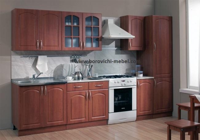 мебель - Кухни - Кухня Трапеза 2400 с пеналом