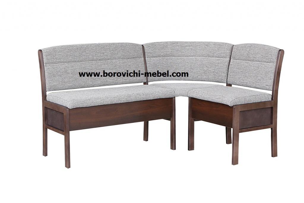 Кухонный угловой диван Этюд облегченный вариант 3-1 (1700х1100 мм...