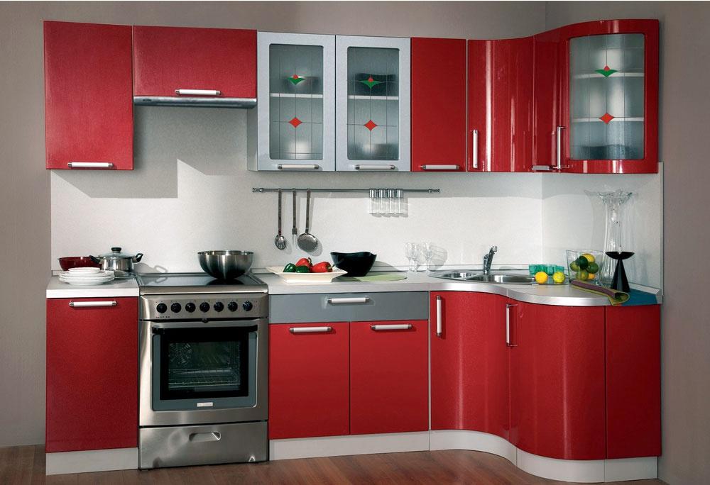Кухня классика угловая 1230х2100 мм с