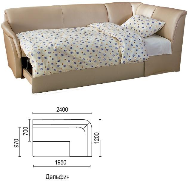 Кухонные диваны со спальным местом